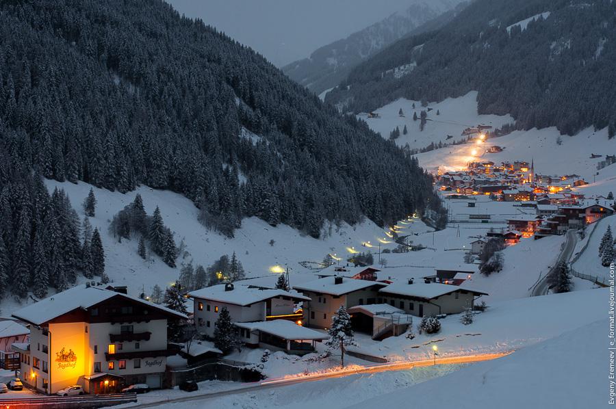 Австрия, Фордерланерсбах