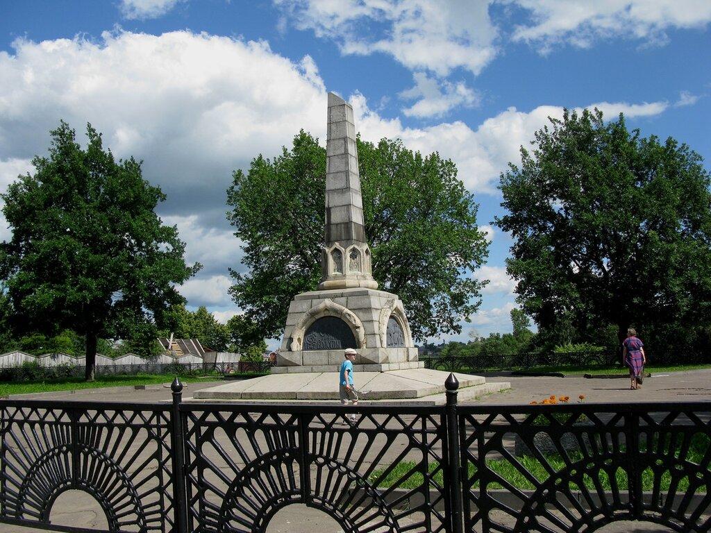 ВОЛОГДА. Памятник 800-летию Вологды