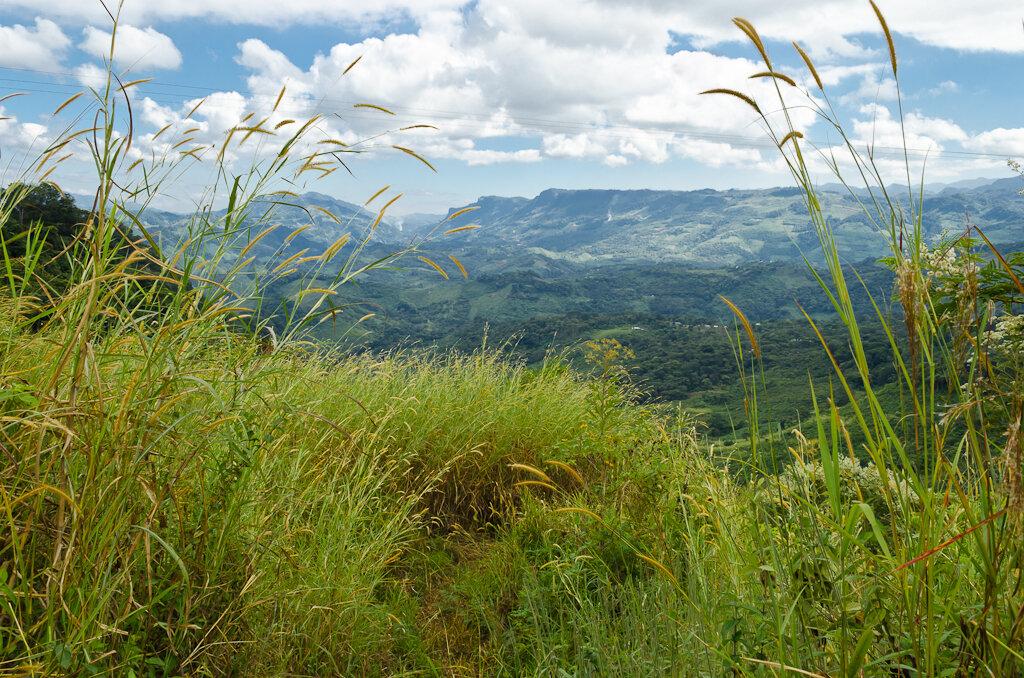 В горах по дороге в San Cristóbal de las Casas. Туры в Мексику самостоятельно. Отзывы туристов о поездке в ноябре