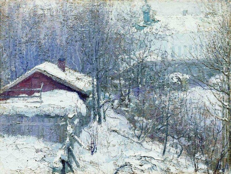 Николай Иванович Фешин (1881-1955). Ранняя весна