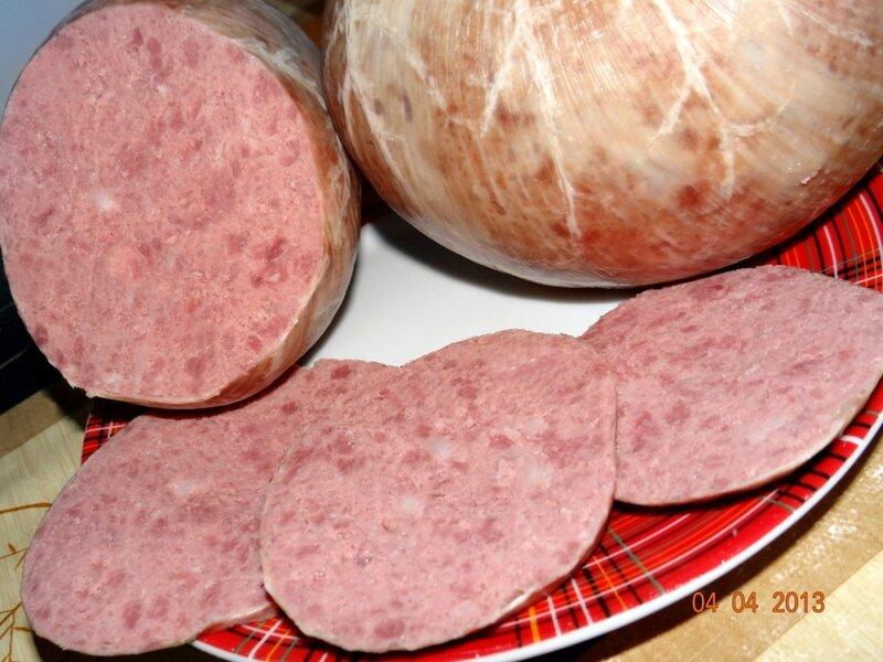 Колбаса из говядины своими руками