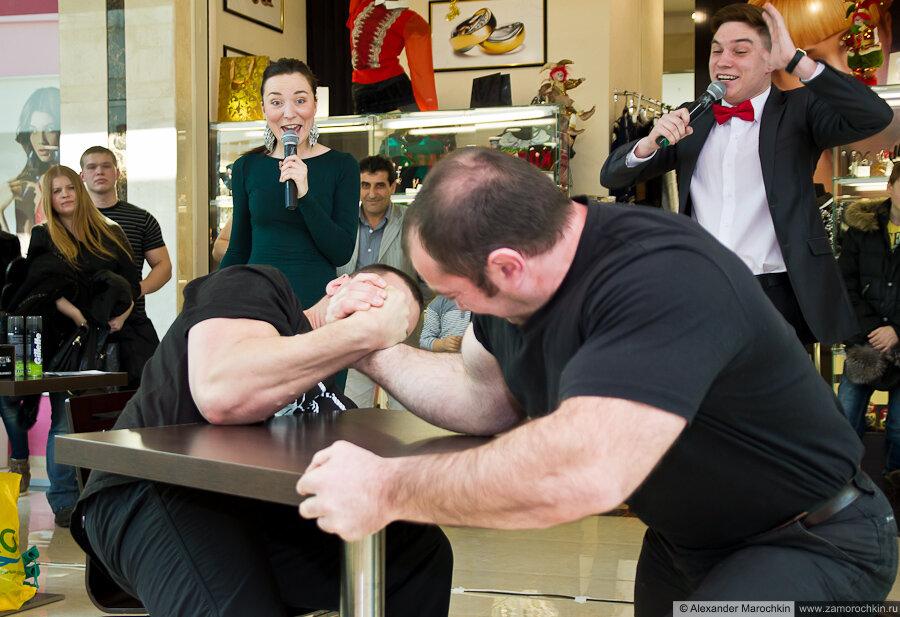 Кулясов vs Сабашвили. Армрестлинг в РИО 23 февраля 2013