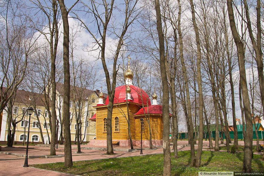 Церковь Воскресения Христова в ближнем скиту Макаровского монастыря Саранск