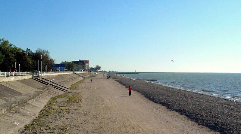 В апреле, у Азовского моря