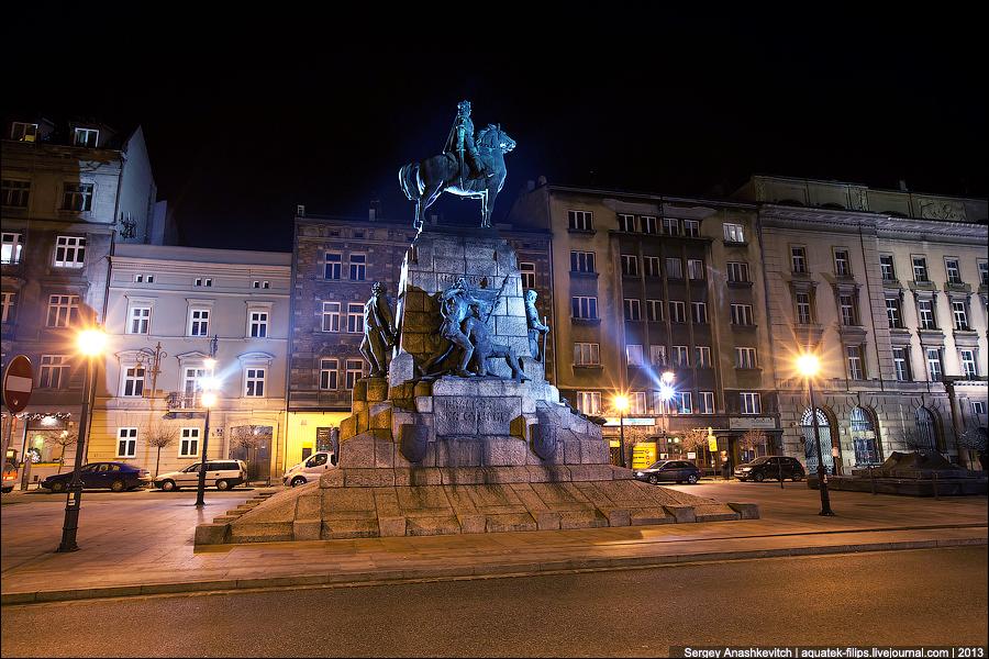 Ночной Краков