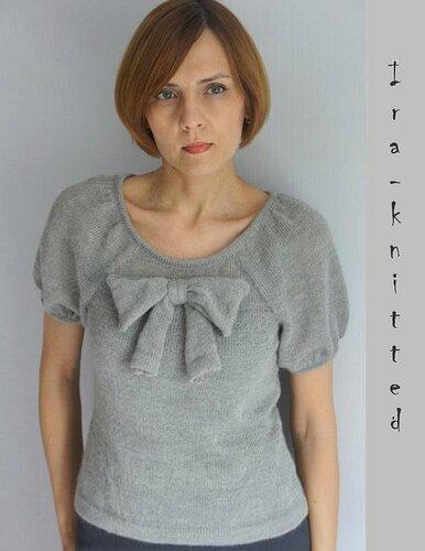 Вязание.Красиво и легко №57:Укороченный пуловер,салатная сумка,полосатые гетры