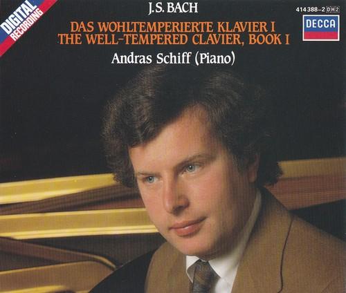 (Classical / Piano) Johann Sebastian Bach - Das wohltemperierte Klavier / The Well-Tempered Clavier / Йоханн (Иоганн) Себастьян Бах - Хорошо темперированный клавир (Andras Schiff / Андраш Шифф, 1984/85) - 1985/87 [4 CD], FLAC (image+.cue) lossless