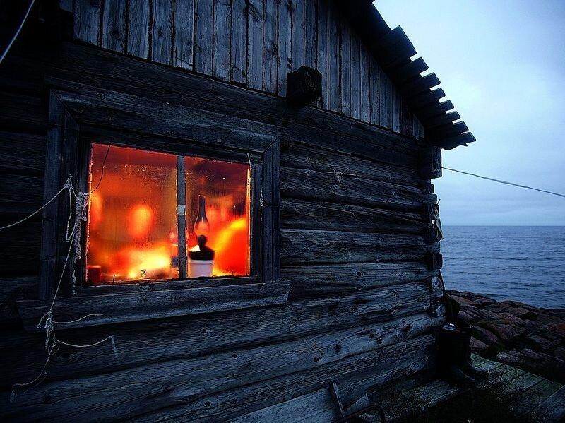 Поморская избушка — воплощение тепла и уюта для своих жителей