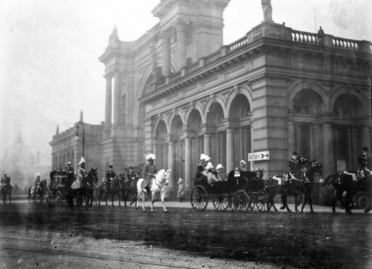 Вокзал «Лертер Банхоф» в Берлине. 1909 г.