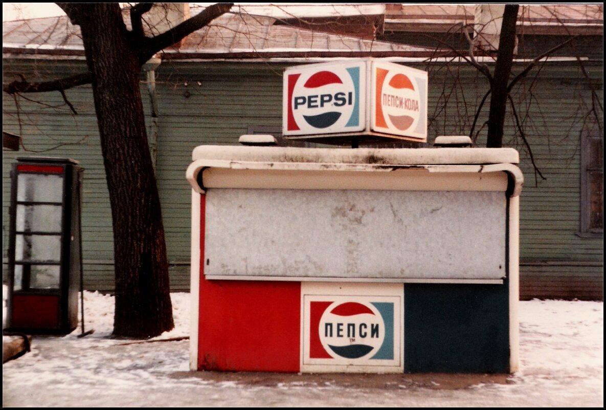 Заснеженная Пепси-Кола