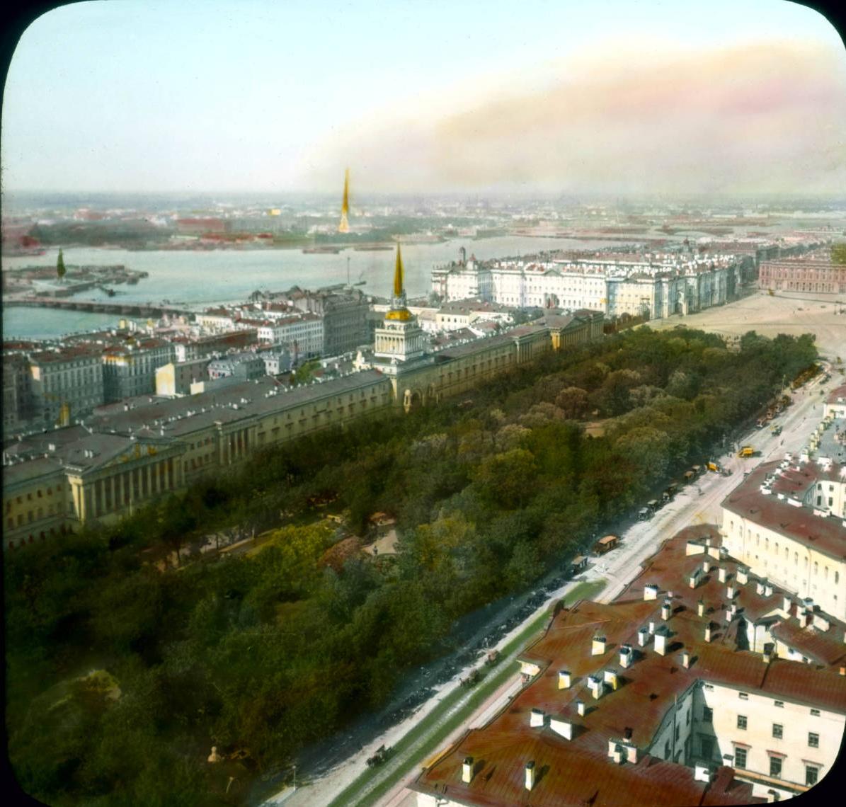 Санкт-Петербург. Панорамный вид с Исаакиевского собора