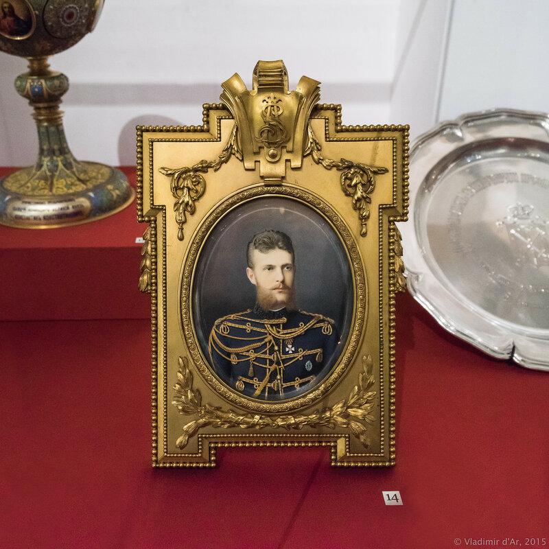 Портрет Великого князя Сергея Александровича. Вегнер А.М. 1881 г.