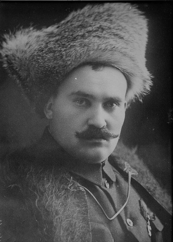 Portrait of Ataman Grigory Semyonov, 1920's