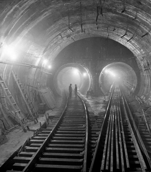 1959.08.09. Тоннель возле станции метро Арсенальная