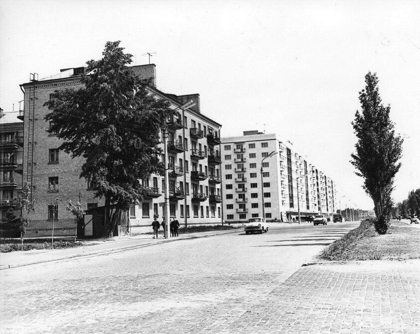 1964.05. Бульвар Леси Украинки. Фото: Примаченко А.