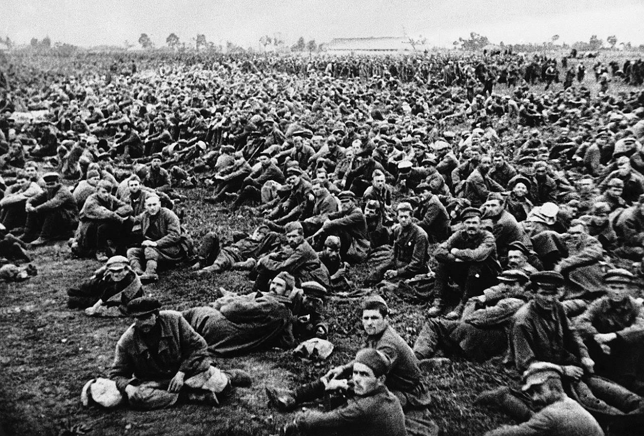 Советские пленные 650 тыс.