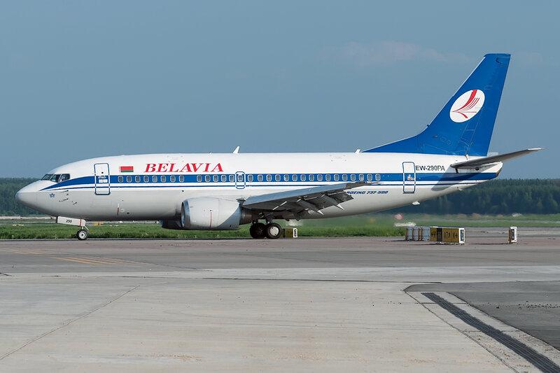 Boeing 737-5Q8 (EW-290PA) Belavia DSC0541
