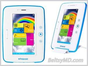 Polaroid разработала первый планшет для детей