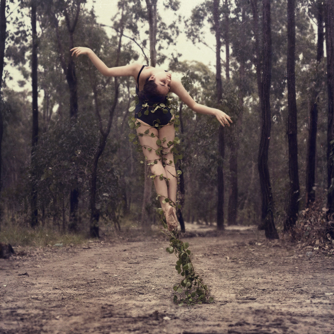 автопортрет танцовщицы Ingrid Endel