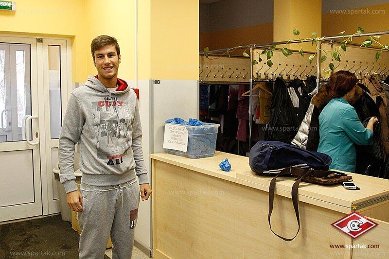Все игроки «Спартака» прошли медицинское обследование (Фото)
