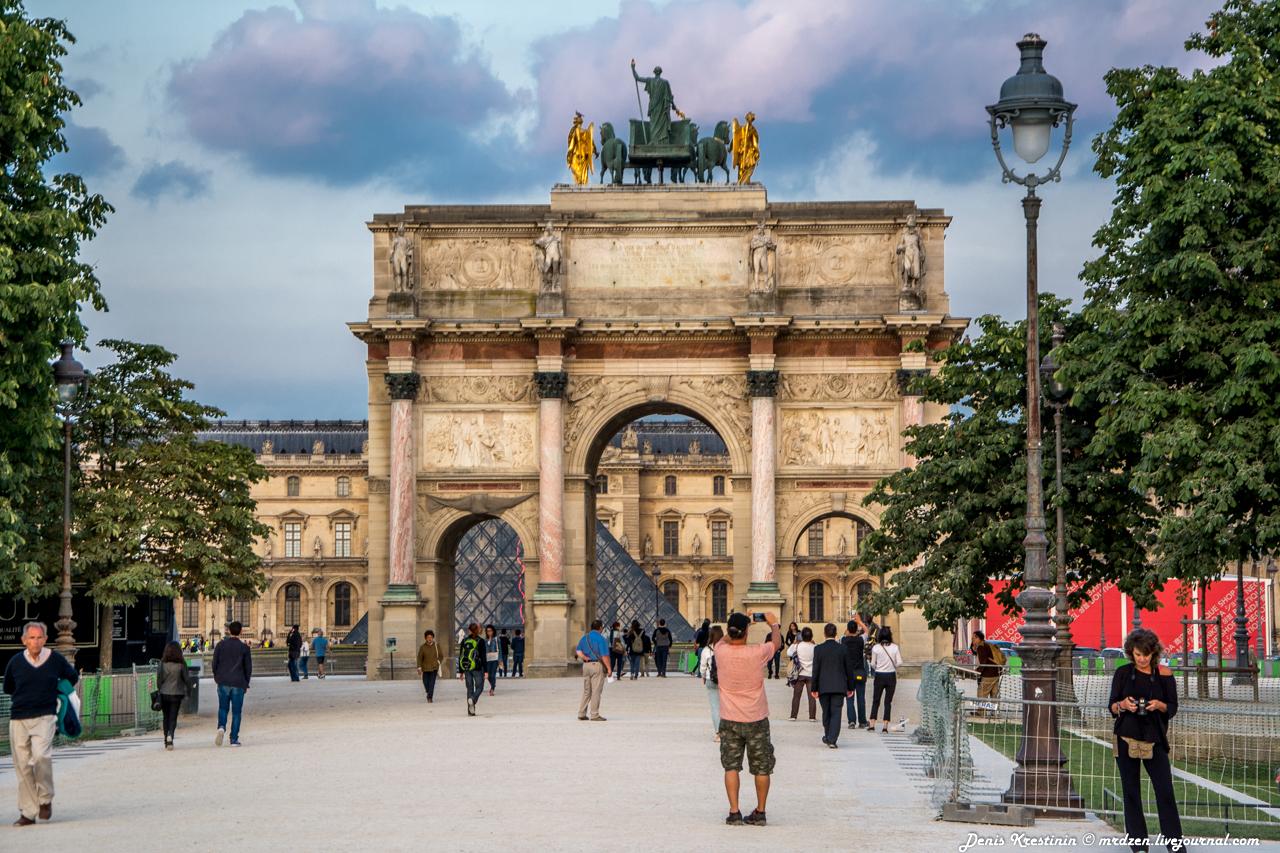 Триумфальная арка на площади Каррузель