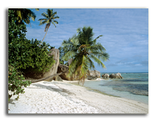 Сейшелы. Beach in the Seychelles. Фото IS_2 - Depositphotos
