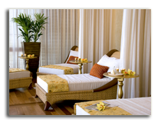 ОАЭ. Дубаи. Raffles Dubai. Raffles Amrita Spa Relaxation Area