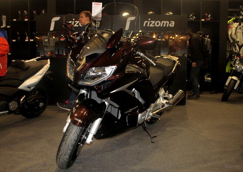 Спорт-турист с высоким уровнем комфорта Yamaha FJR1300