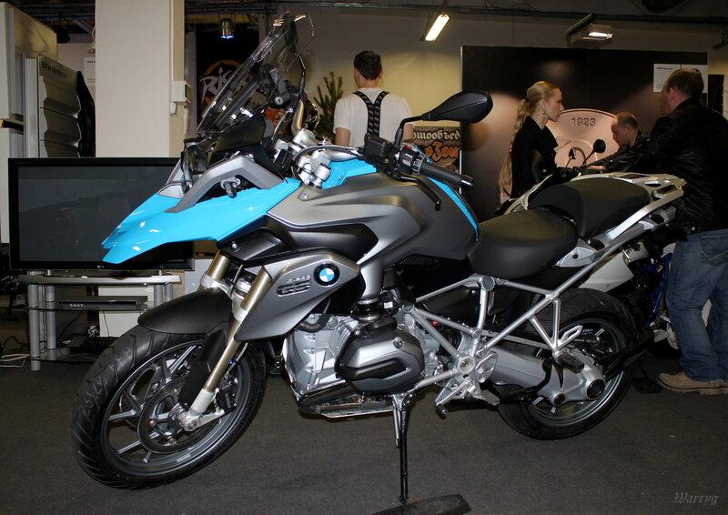 Новый эндуро BMW R 1200 GS
