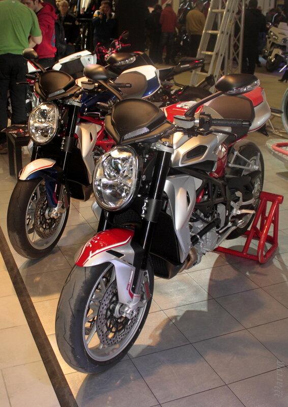 Мотоциклы MV Agusta Brutale 1090