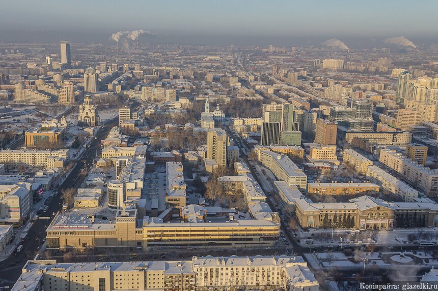Екатеринбург. Смотровая площадка БЦ