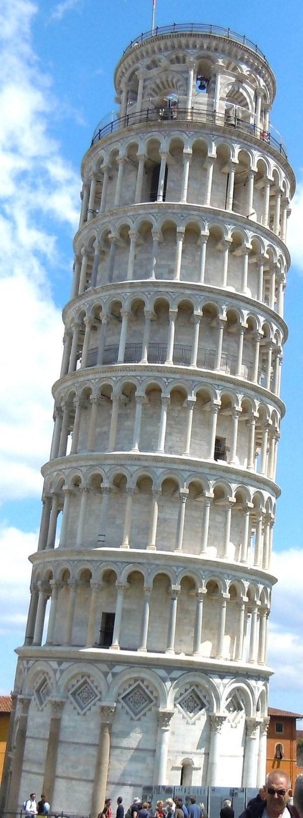 Пизанская башня внутри
