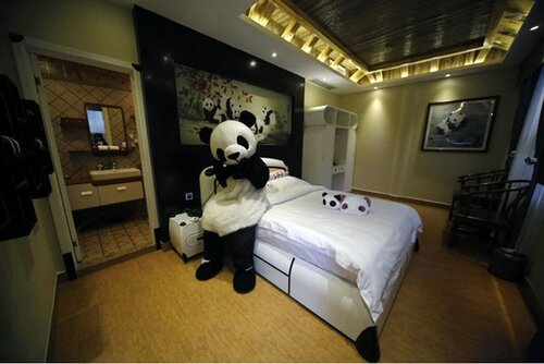 Необычный отель в стиле Панды