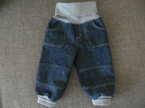 Сшить джинсы для ребенка из старых джинсов 95