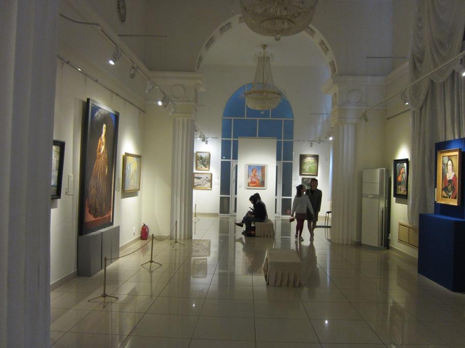 Челябинский музей искусств, июль 2015