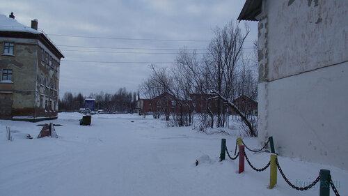 Фото города Инта №2817  Коммунистическая 18, 10, 9 и 4 31.01.2013_13:29