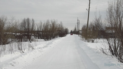 Фотография Инты №3969  Улица Березовская в юго-восточном направлении 17.03.2013_13:14