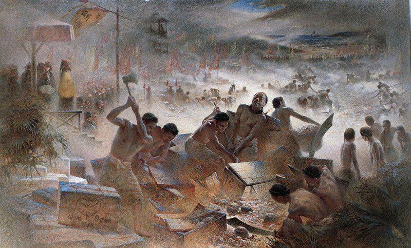 картинки опиумных войн в китае