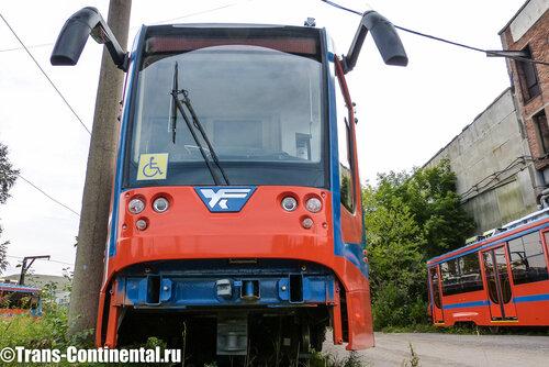 Усть-Катавский космический трамвай модели 71-630