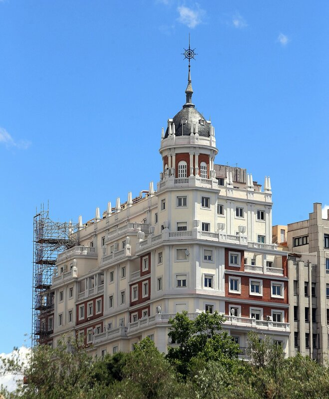 Мадрид. Площадь Испании