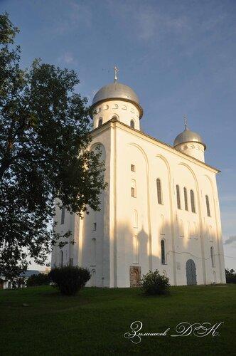 Cвято-Юрьев монастырь,  Георгиевский собор (1119 г.).