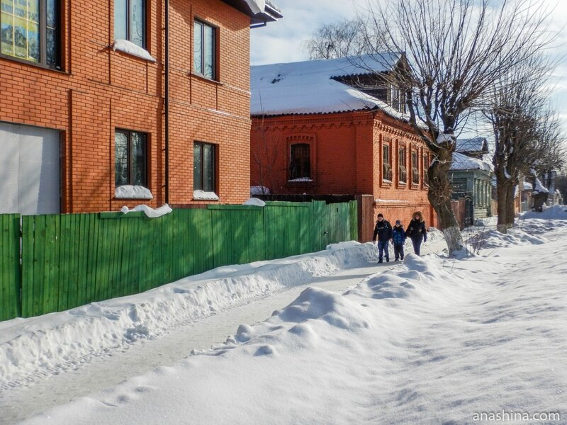Дома по улице Чайковского, Клин
