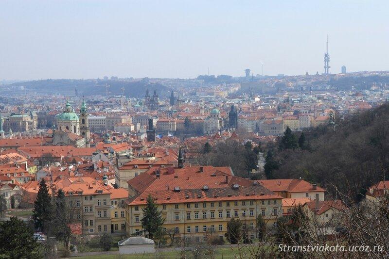 Прага, Вид на Прагу