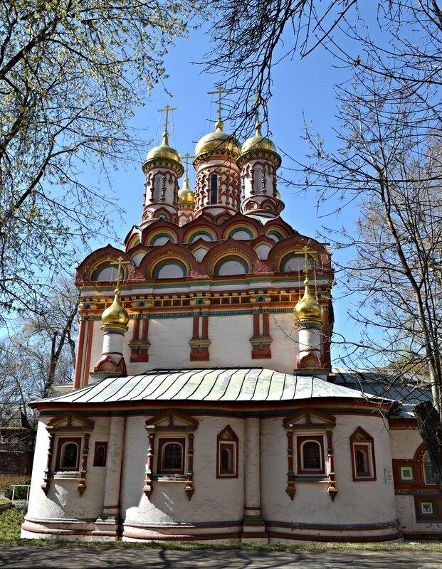 Апсида церкви Николы Чудотворца на Берсеневке