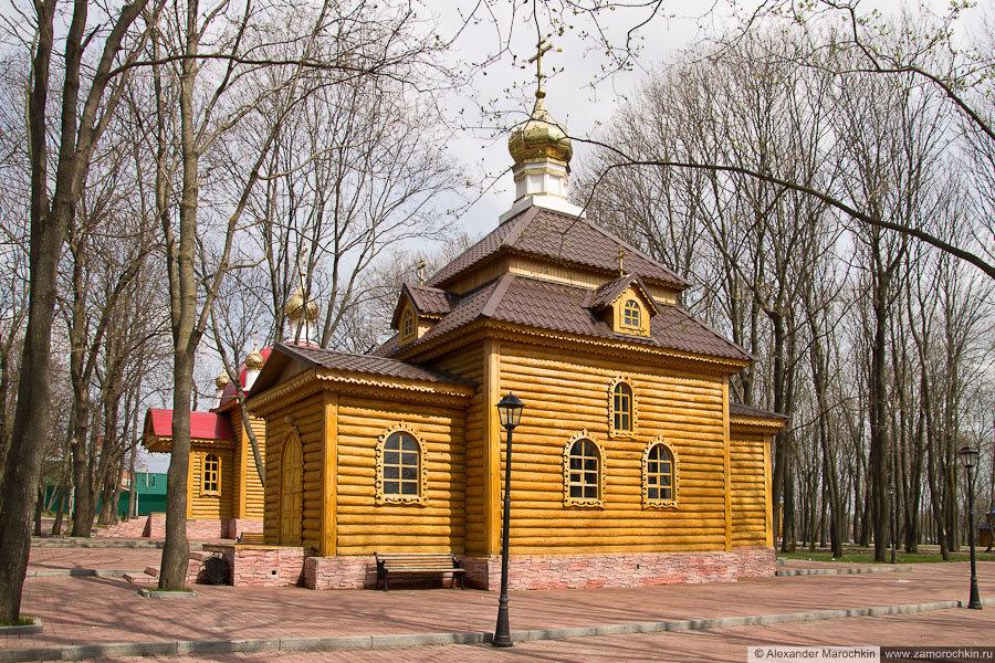 Церковь равноапостольных князей Владимира и Ольги в Макаровском монастыре Саранск