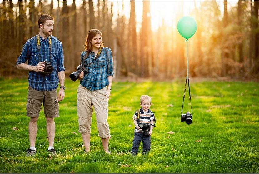 Для семейных фотографий