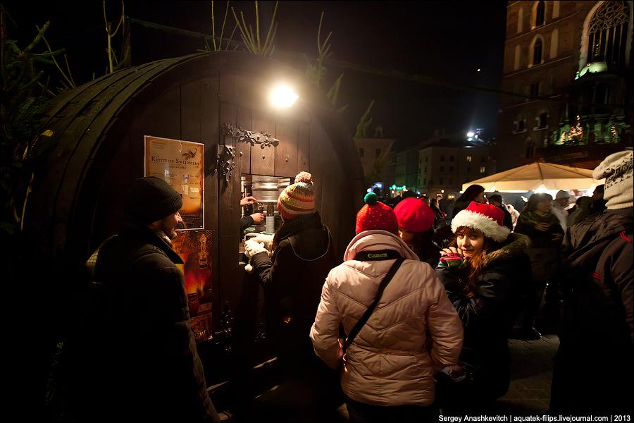 Новогодняя ночь в Кракове