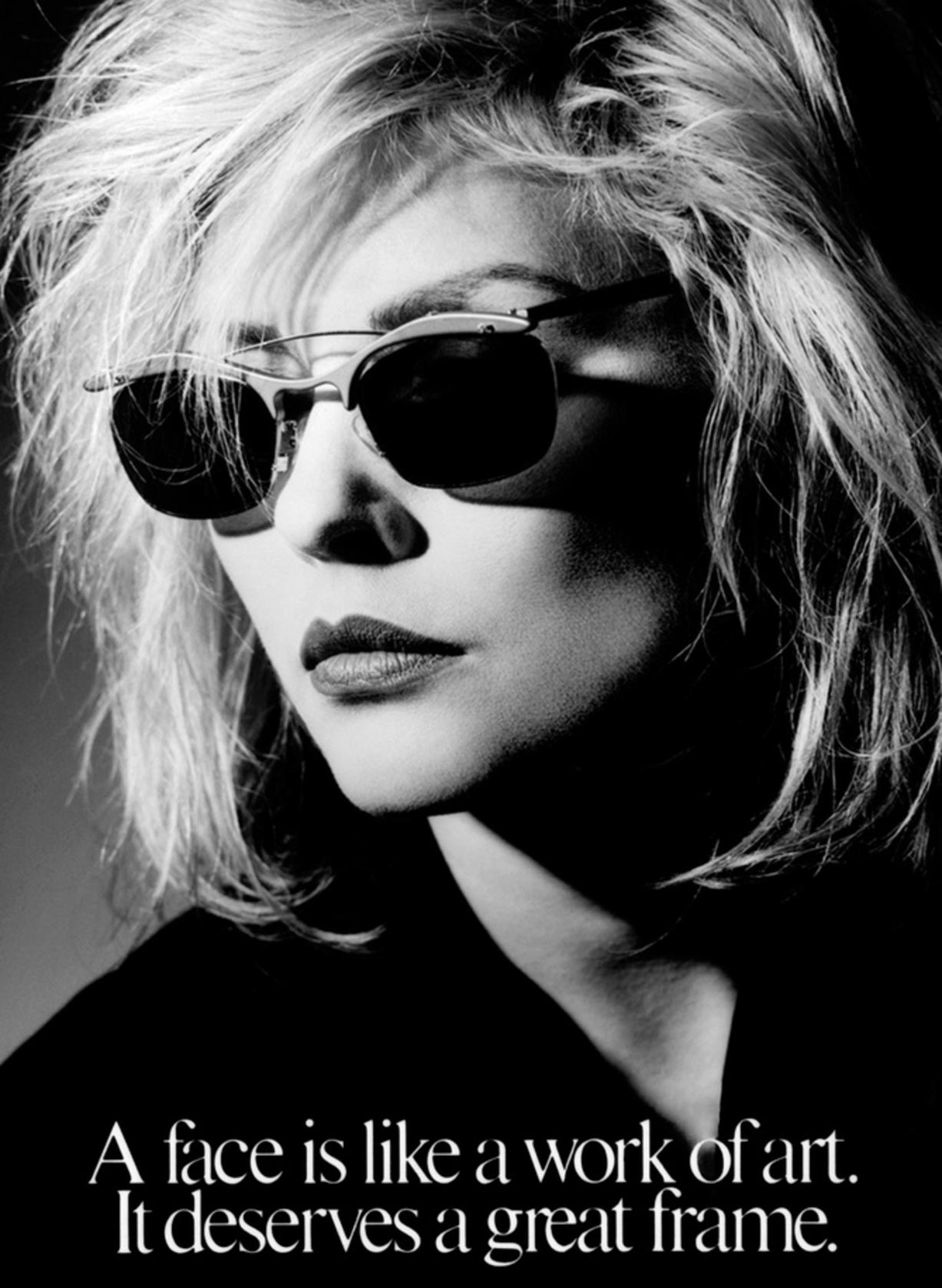 Debbie Harry / Дебби Харри - портрет фотографа Грега Гормана / Greg Gorman