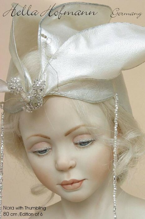 Hella Hofmann dolls. Авторские куклы Хелла Хофманн