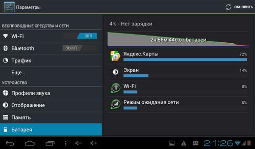 Perfeo 7777HD, скриншот